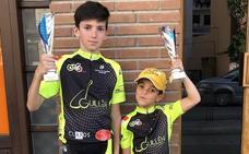 Dos podios para la Escuela Bejarana de Ciclismo en tierras segovianas