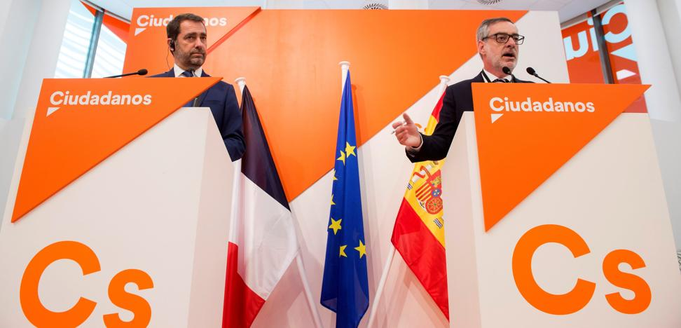 Rivera y Macron ultiman una plataforma electoral para ir juntos a las europeas