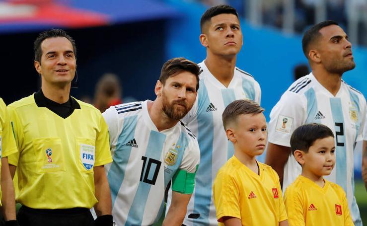Nigeria-Argentina, en imágenes