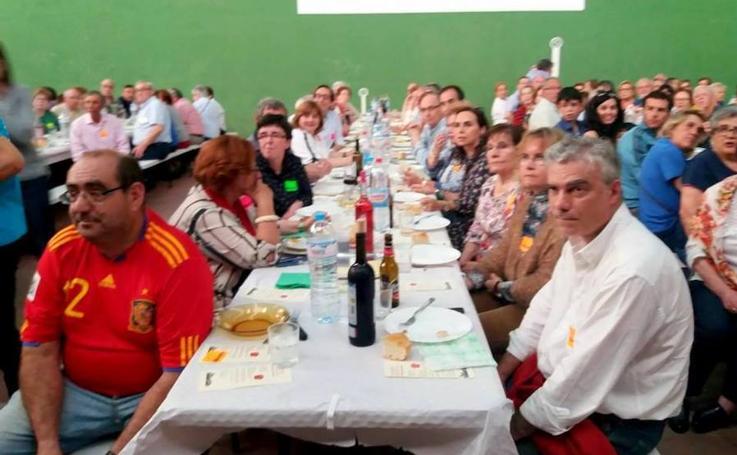 El Cerrato se vuelca con Manos Unidas en una cena solidaria