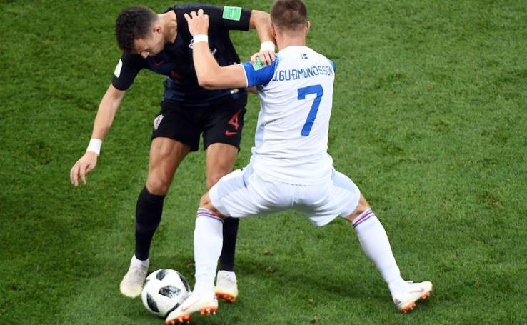 Islandia-Croacia, en imágenes