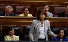 La ministra de Justicia dice que no pretenden suplantar a la Fiscalía, pero sí complementar su labor