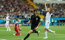 Islandia muere en la orilla ante una efectiva Croacia