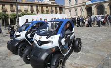 Trece nuevos vehículos eléctricos para el Ayuntamiento de Palencia