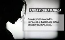 La víctima de La Manada rompe su silencio, agradece el apoyo y hace un llamamiento a denunciar