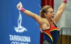 Lydia Valentín brilla con autoridad y se cuelga dos oros en los Juegos Mediterráneos