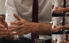 Las manos de Pedro Sánchez: la nueva estrategia de imagen de Moncloa desata la risa en la redes