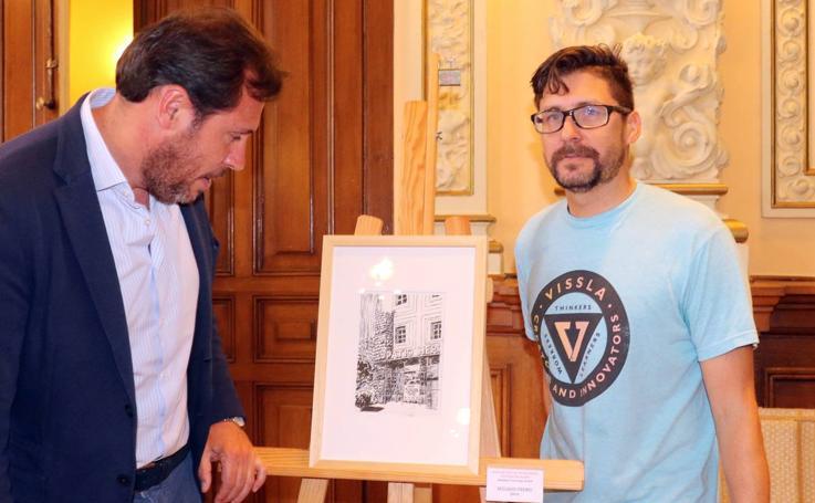 Entrega de los premios del XXXV Concurso de Pintura Rápida San Pedro Regalado