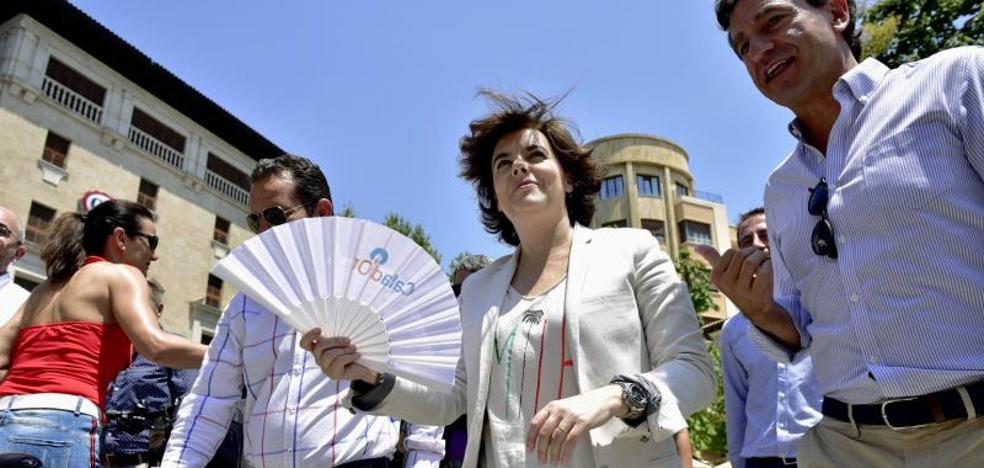 Santamaría se desentiende del censo del PP: «Yo no he estado en el aparato»