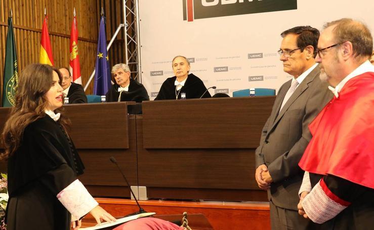 Acto de Toma de Posesión del segundo mandato de Imelda Rodríguez Escanciano como Rectora de la UEMC