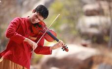 Lo mejor de la música y danza india en vivo