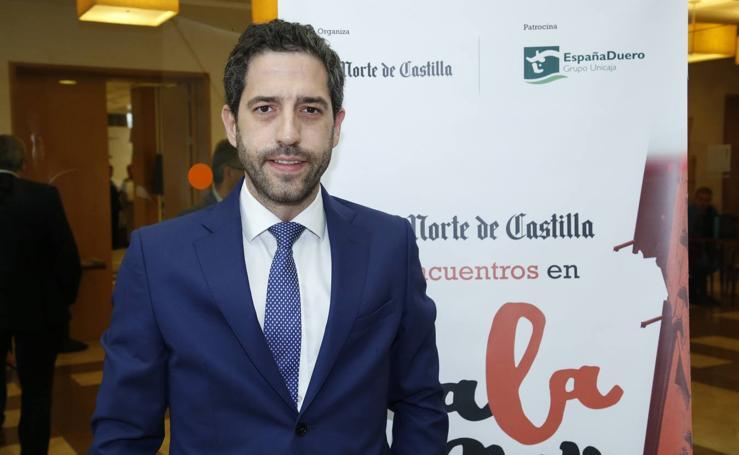 César Pontvianne, en los Encuentros en Salamanca de El Norte de Castilla