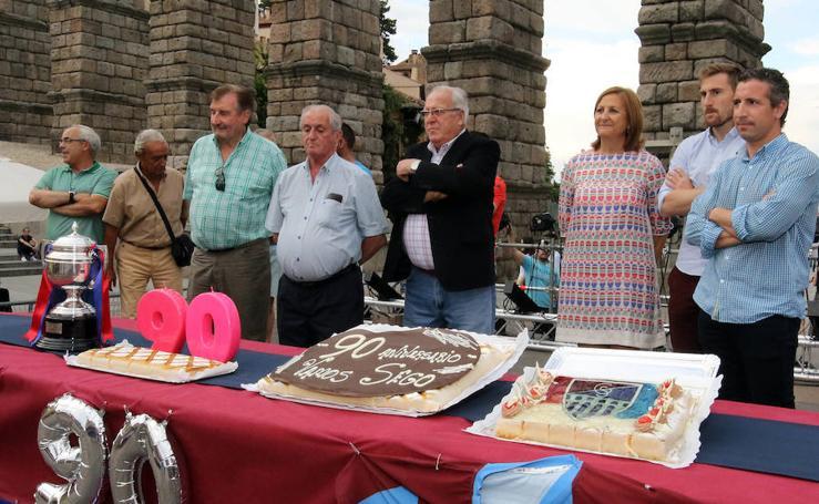 Celebración del 90 cumpleaños de la Gimnástica Segoviana