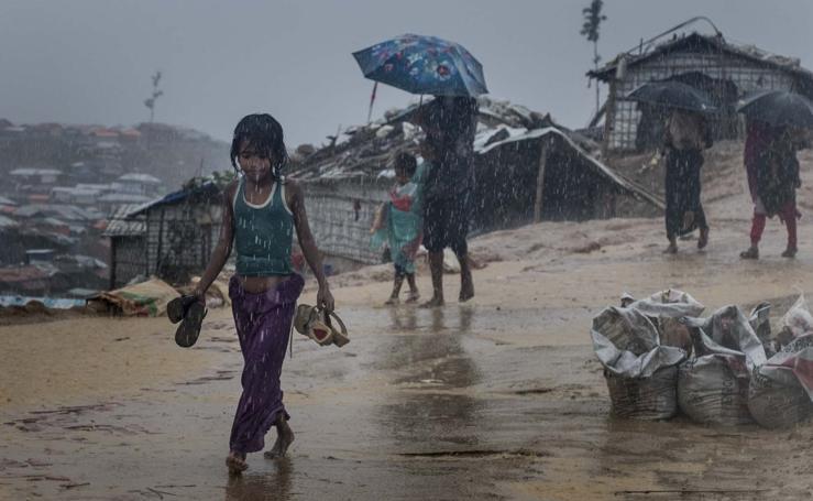 Refugiados rohingyás en Bangladés