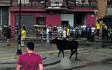 Un fuerte aguacero desluce en Villalón la segunda Vaca del Cajón