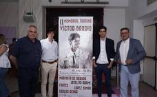 Morenito, Joselito Adame, López Simón y Fortes, en el II Memorial Víctor Barrio
