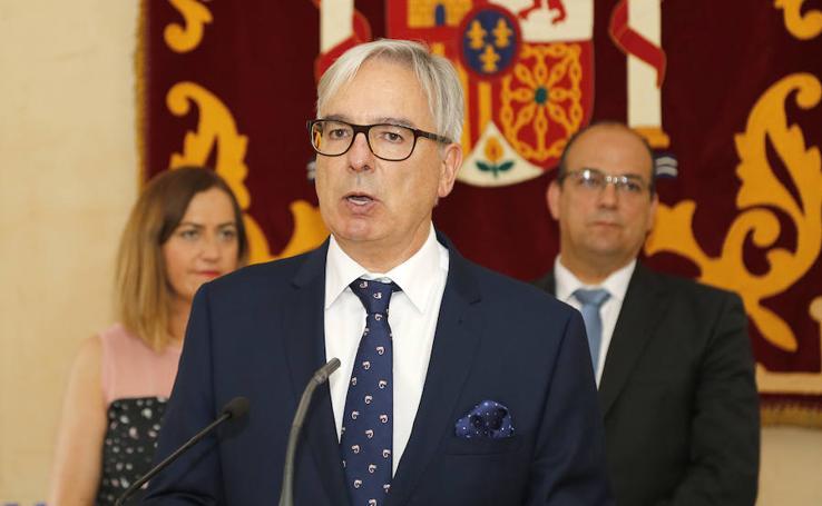 Toma de posesión del Subdelegado de Palencia