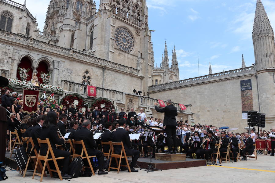 El Himno a Burgos en fotos