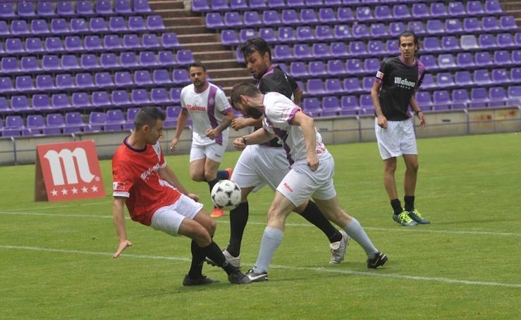 Maratón de partidos de fútbol 7 en el estadio José Zorrilla