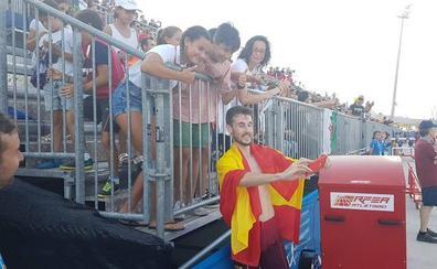Álvaro de Arriba, medalla de oro en los 800 metros lisos en los Juegos del Mediterráneo