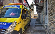 Herido un motorista de 42 años en El Espinar