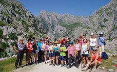 Los Picos de Europa, protagonistas de la última actividad de Acasa