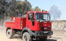Villacastín sufre el primer incendio forestal del operativo de verano