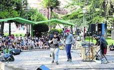Palencia reivindica la cultura urbana en Los Jardinillos
