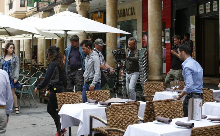 Comienza el rodaje de la película alemana 'Einn Sommer in Salamanca'