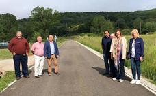 La Diputación de Palencia mejora la carretera de la Castillería