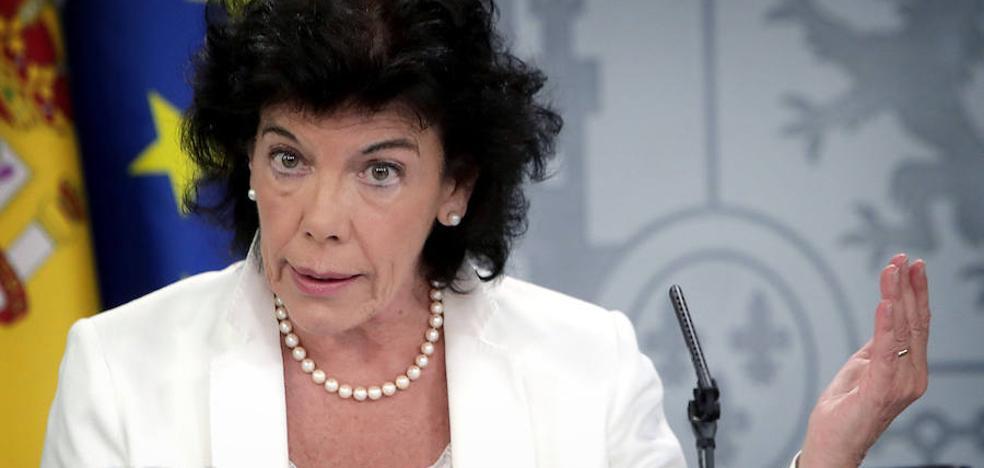 La ministra quiere una asignatura de Religión sin valor académico