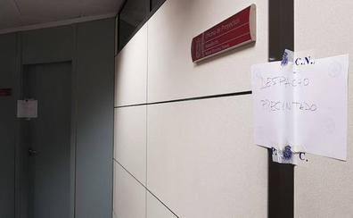 Precintan los despachos de los concejales de Obras y del área de Contratación
