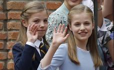 La princesa Leonor y la infanta Sofía pasarán julio en un campamento de EE UU