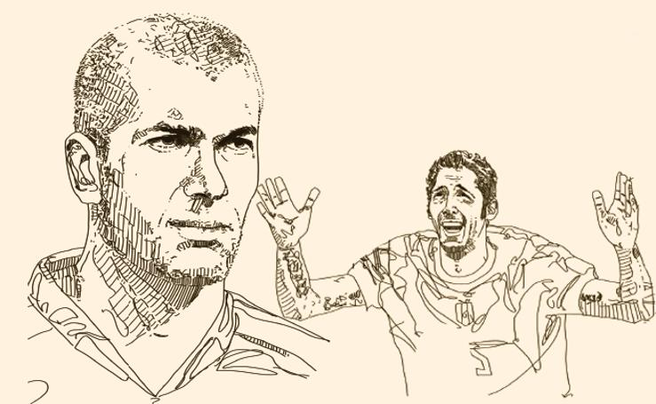 El cabezazo de Zidane