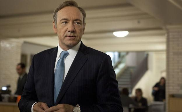 Kevin Spacey, en una escena de la serie 'House of Cards'.