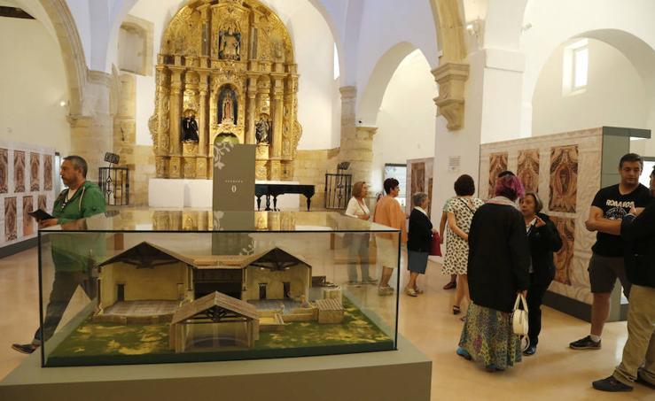 Reapertura del museo de La Olmeda en Saldaña