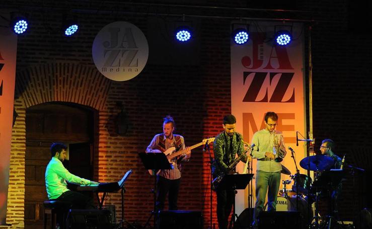 Actuación del grupo Jumbo Jazz Quinet en el Festival de Jazz de Medina del Campo