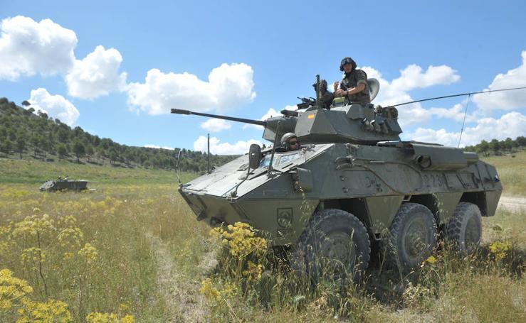 Carrera de combate en la Base Militar 'El Empecinado'