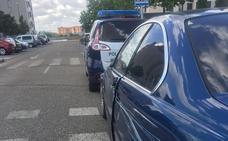 Una furgoneta provoca una colisión contra dos turismos por no mantener la distancia de seguridad