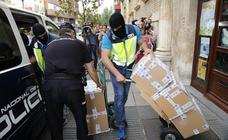 La UDEF detiene a una mujer en Palencia en el marco de la operación Enredadera