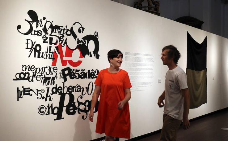 Exposición en las Francesas de 'Creart'