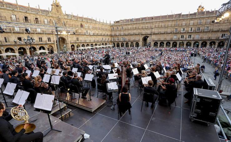 Orquesta sinfónica de Castilla y León en Salamanca