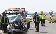 Fallecen tres personas en varios accidentes en las provincias de Burgos y Zamora