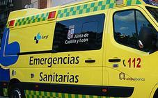 Un muerto en un accidente de trafico en la N-122 en Fresnillo de las Dueñas