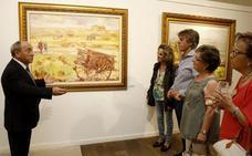 Antonio de la Peña, el artista impresionista e impresionante