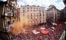 El chupinazo abre las fiestas de San Fermín