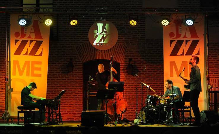 Actuación de 'Move' en el Festival de Jazz de Medina del Campo