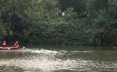 Se tira al río Pisuerga para huir de la Policía en Valladolid