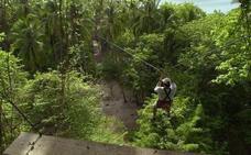 Muere en su luna de miel en Honduras tras chocar con su esposa en una tirolina