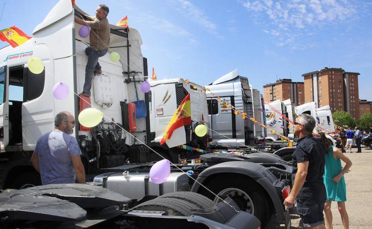 Fiesta de San Cristóbal en Palencia, patrono de los transportistas